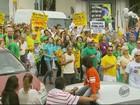Atos contra o governo Dilma reúnem manifestantes no Sul de Minas