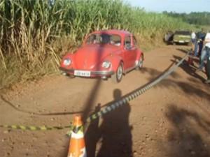 Duplo homicídio ocorreu na madrugada de domingo em Cruzeiro do Sul (Foto: Reprodução/RBS TV)