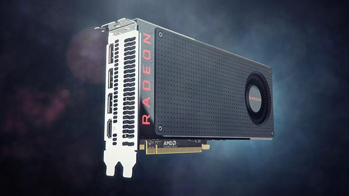Placa da AMD é um pouco melhor em jogos que usam APIs Vulkan ou DirectX 12 (Foto: Divulgação/AMD)
