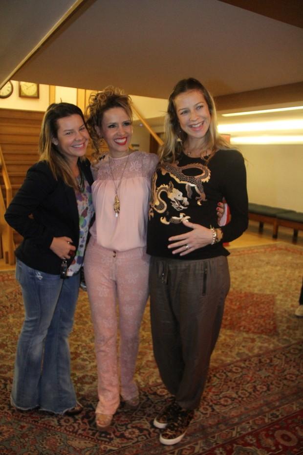 Fernanda Souza, Leona Cavalli e Luana Piovani (Foto: Daniel Delmiro/Ag News)