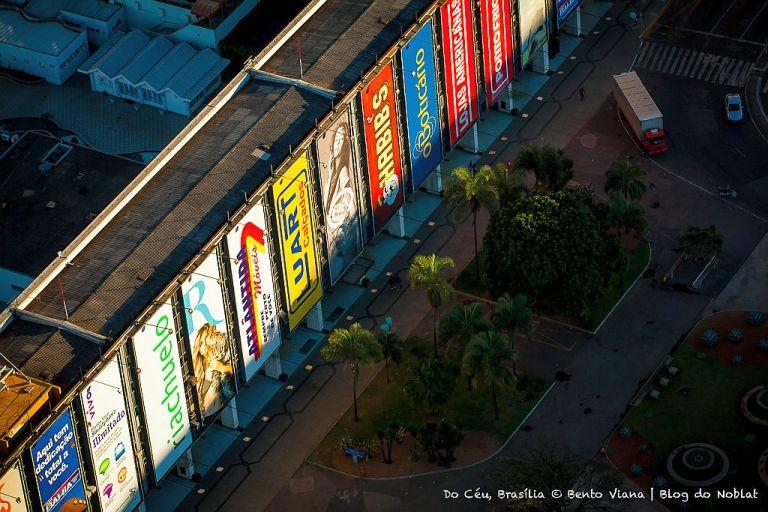 Fachada Conjunto Nacional de Brasília (Foto: Bento Viana)