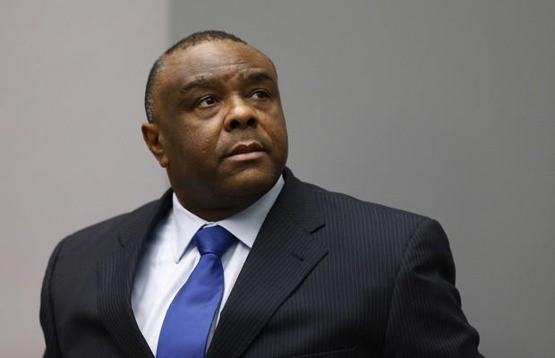 Jean-Pierre Bemba, que liderou tropas na República Centro-Africana em 2002, foi processado por crimes de guerra e contra a humanidade (Foto: MICHAEL KOOREN / POOL / AFP)
