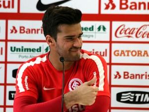 Internacional Inter ALisson (Foto: Eduardo Deconto/GloboEsporte.com)