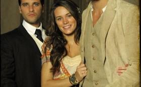 Bianca Bin, Cauã Reymond e Bruno Gagliasso avaliam experiência na novela