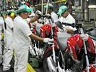 Produção de motos cai 16,8% em 2015 e é a pior desde 2005
