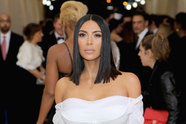 Kim Kardashian sem Kanye West no MET Gala 2017 (Foto: Getty Images)