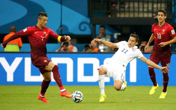 Cristiano Ronaldo jogo Estados Unidos x Portugal (Foto: Reuters)