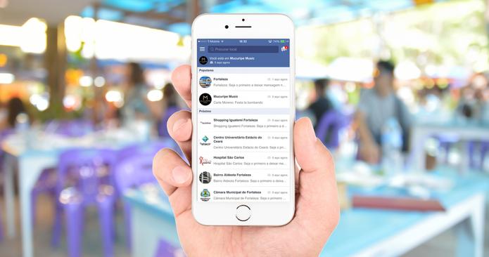Spotchat permite que usurário converse com pessoas que estão próximas (Foto: Divulgação/Spotchat)