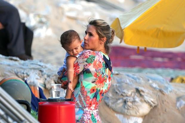 Guilhermina Guinle com a filha (Foto: André Freitas / AgNews)
