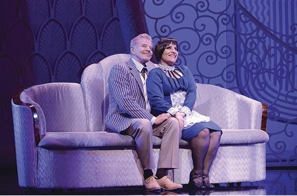 Miguel Falabella e Simone Gutierrez em cena do musical (Foto: Marcos Mesquita)