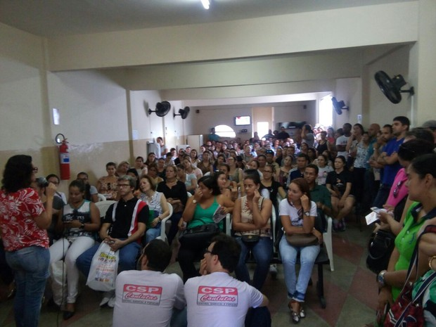 Professores ficaram insatisfeitos com o atraso  (Foto: Divulgação/Assessoria)