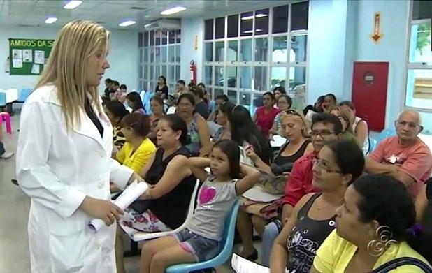 População participou de palestras e conversas informativas (Foto: Jornal do Amazonas)