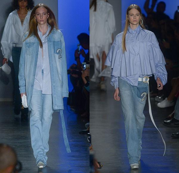 O jeans oversized foi um dos destaques da coleção da Two Denim (Foto: AgNews)