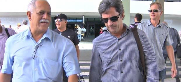 Caio Junior e Raimundo Queiroz (Foto: Reprodução / TV Bahia)