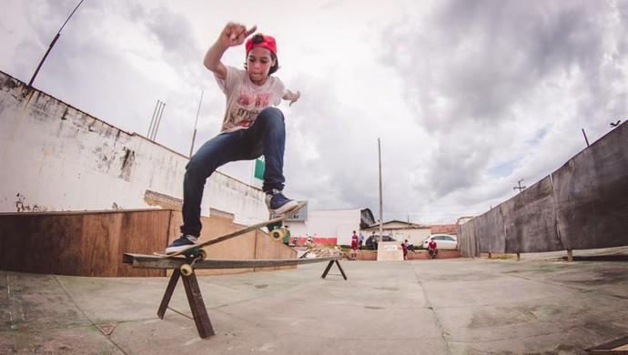 Kurt Corrado, skatista de Ji-Paraná (Foto: Alysson Vicente/ Arquivo pessoal)