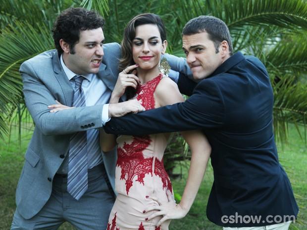 Para a atriz, a personagem traz uma nova proposta de amor (Foto: Carol Caminha / TV Globo)