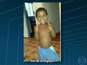 Kayke estava desaparecido desde o dia 30 do mês passado (Foto: Reprodução / TV Globo)