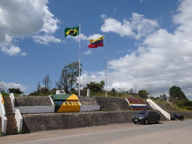Fronteira entre o Brasil e a Venezuela foi fechada por  72h e será reaberta às 0h de quinta (15) (Foto: Inaê Brandão/G1 RR)