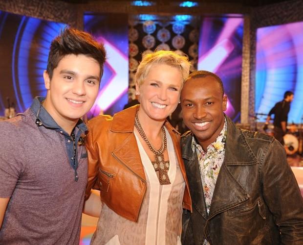 Luan Santana e Thiaguinho são algumas das atrações do TV Xuxa (Foto: Divulgação/Xuxa Produções)