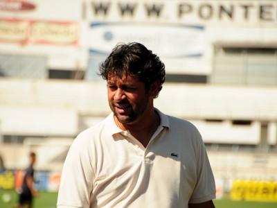 Marcus Vinícius gerente de futebol Ponte Preta (Foto: Raul Pereira / Globoesporte.com)