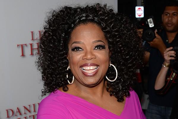 """Oprah Winfrey é uma das pessoas mais intimidadoras da indústria do entretenimento. Mas até ela tem medos. No caso, de bexigas. """"Não gosto dele porque me lembram tiroteios, talvez tenha alguma coisa a ver com minha infância. Só sei que fico perturbada quando vejo bexigas"""", disse a apresentadora. (Foto: Getty Images)"""