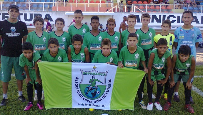Alunos serão vistos por um olheiro do Atlético-MG (Foto: Devair da Silva/Arquivo Pessoal)