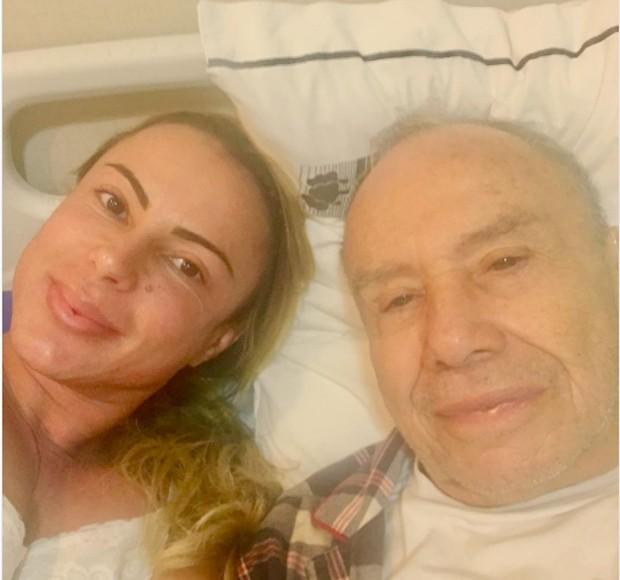 Marilene Saade e Stênio Garcia (Foto: Reprodução/Instagram)