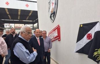 Após nove meses, Eurico Miranda inaugura o Caprres em São Januário
