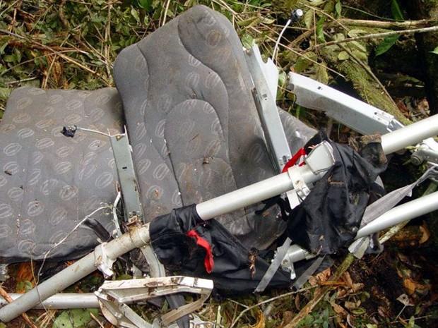 Acidente do avião da Gol em Mato Grosso completa 10 anos (Foto: Arquivo/Corpo de Bombeiros de Sinop (MT))