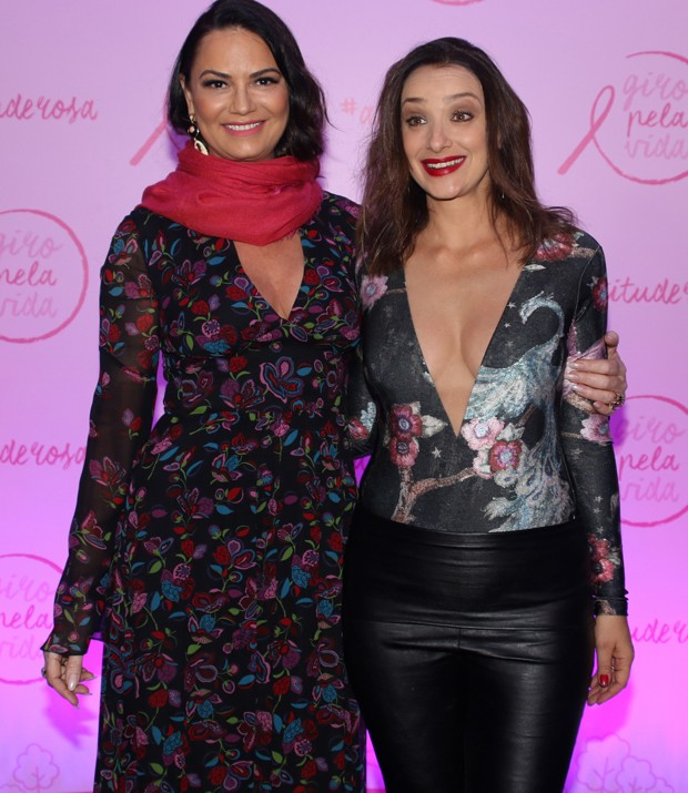 Luiza Brunet e Sabrina Parlatore (Foto: Thiago Duran/AgNews)