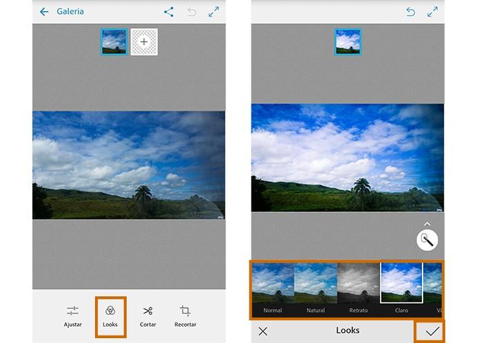 Aplique filtros e deixe suas fotos com efeitos personalizados (Foto: Reprodução/Barbara Mannara)