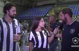 Fernanda Maia acompanhou o jogo com a torcida em General