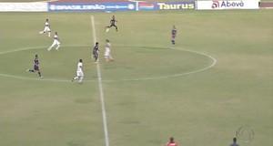 Gol de Johny na vitória do Sete de Dourados sobre o Anápolis (Foto: Reprodução/TV Morena)