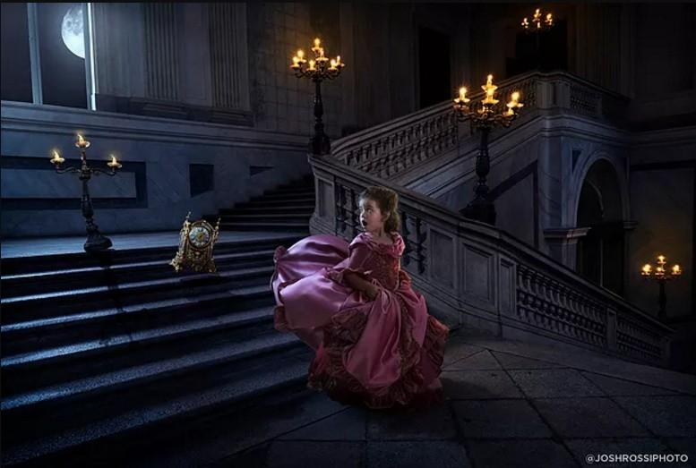 Nelle no castelo amaldiçoado (Foto: John Rossi)