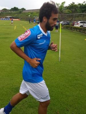 Gabriel Xavier, meia do Cruzeiro (Foto: Marco Antônio Astoni)