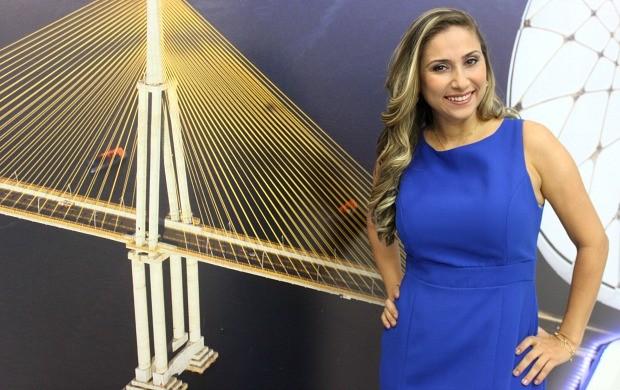 Daniela Branches comandará Globo Esporte AM e Jornal do Amazonas (Foto: Katiúscia Monteiro/ Rede Amazônica)