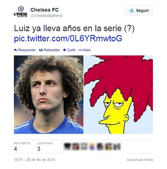 Chelsea Simpsons (Foto: Reprodução / Twitter)