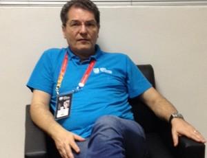 Edgar Hubner, diretor-geral dos Jogos Escolares da Juventude (Foto: Larissa Keren / GloboEsporte.com/pb)