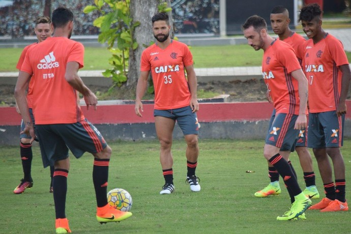 flamengo treino (Foto: Gilvan de Souza / Flamengo)