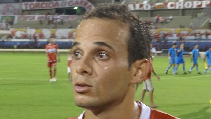 Morais reconhece que CRB não fez boa exibição contra o Campinense (Foto: Denison Roma / GloboEsporte.com)