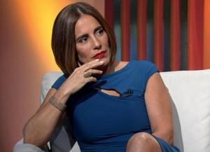 Gloria Pires comentando o Oscar (Foto: TV Globo)