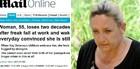 Inglesa perde memória e para nos anos 90 (Reprodução/Daily Mail)