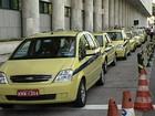 Prefeito do Rio mantém autorização para táxis operarem nos aeroportos