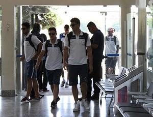 desembarque do Cruzeiro (Foto: Mauricio Paulucci)