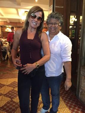 Zilu e Marlene Mattos (Foto: Divulgação)