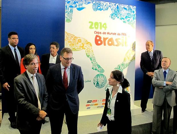 Jerome valcke Evento apresentação pôster copa do mundo (Foto: Marcelo Baltar)