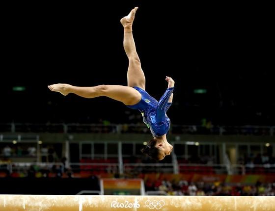 Flávia Saraiva ginasta brasileira (Foto:  Lars Baron/Getty Images)