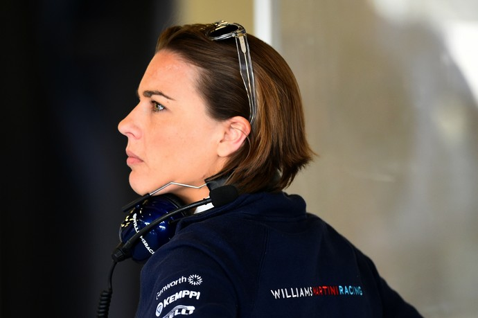 Claire Williams afirma que Felipe Massa não está se deixando abater pela maré de azar (Foto: Getty Images)