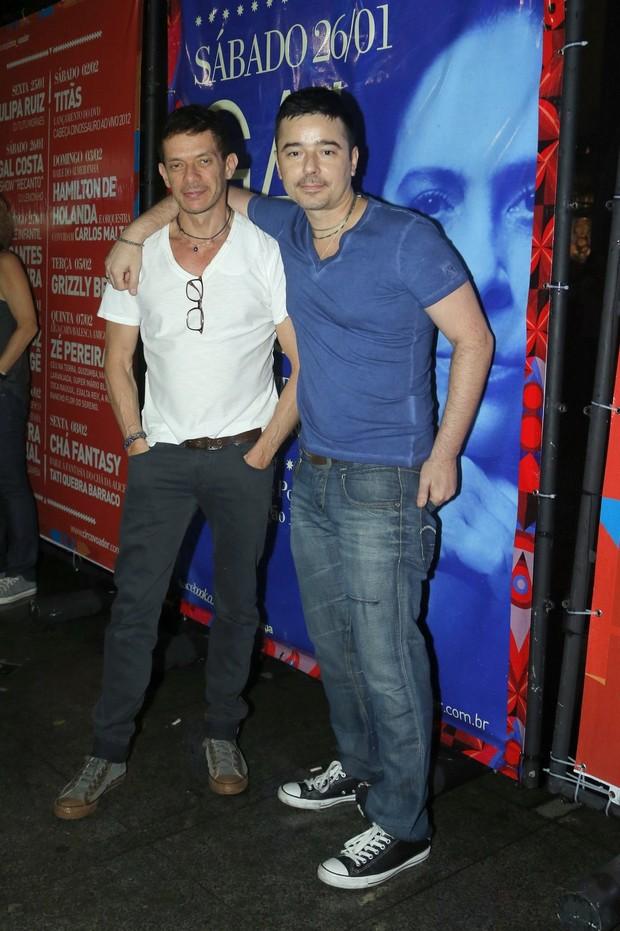 André Piva e Carlos Tufvson (Foto: Roberto Filho/Agnews)