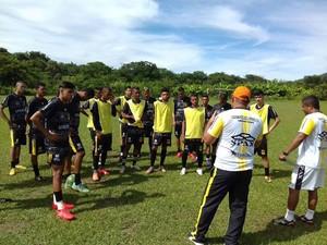 Equipe vem se preparando para a disputa da Segundona do Mineiro (Foto: Victória Clube/Divulgação)